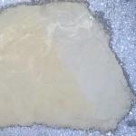 Fyllning av grop med krossgrus och betong