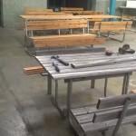 renovering av utemöbler